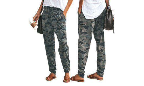 NEW-Camouflage loose casual trousers-LA