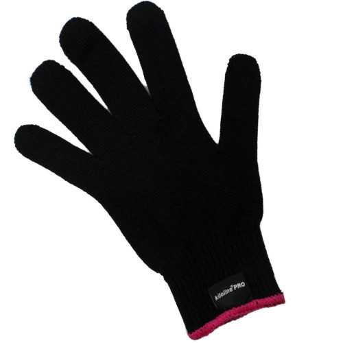 Kiloline Professional Heat Resistant Glove for Hairdressing, Heat Blocker for Curls, Suitable for Irons and Curlers, Suitable for Both Hands