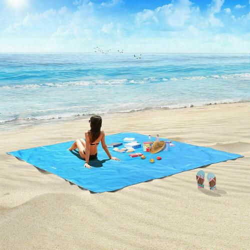 Extra large Magic Sand Free Beach Mat