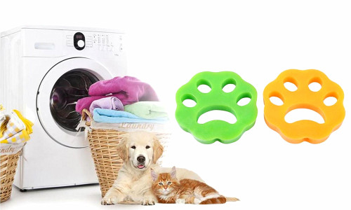 NEW- 2in1 Pet Hair Remover for Laundry Washer and dry cloth Pack of 2 -la