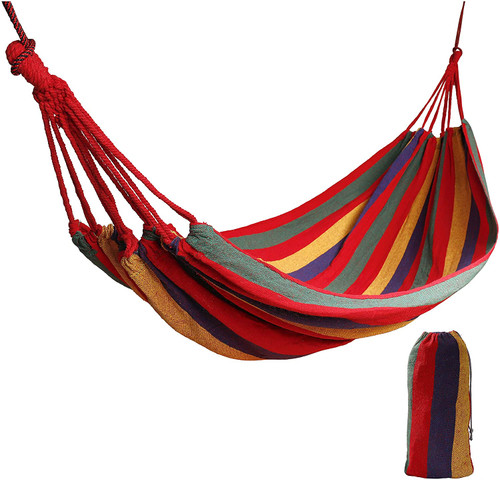 Portable Canvas Swing Bed