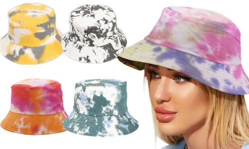 Unisex Tie-dye  reversible  summer hat-LA