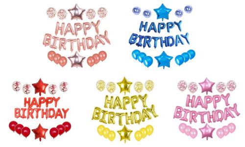 Happy Birtyday Party Balloon Set