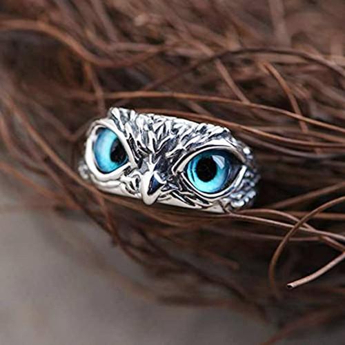 Owl Adjustable Ring-la
