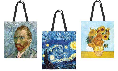 Eco-friendly Art design canvas shopping bag-QA