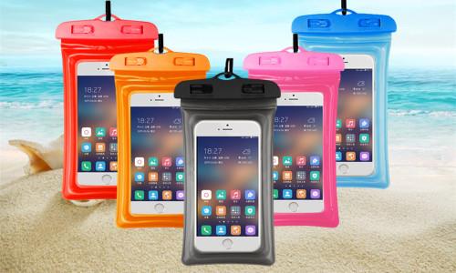 Floating  waterproof phone protection cover bag-la