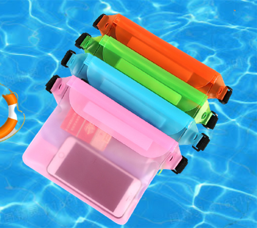 Waterproof  phone protection waist bag-la