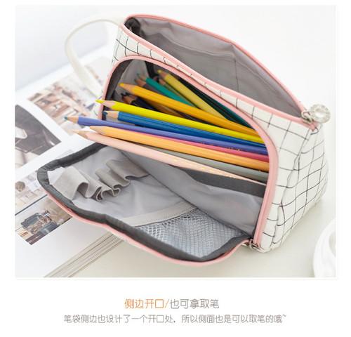 NEW-Big Capacity Pencil Case Large Pencil Pen Pouch Bag0022-LA