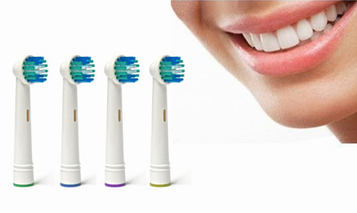 Electric Toothbrush Replacement Heads (pack of 4)