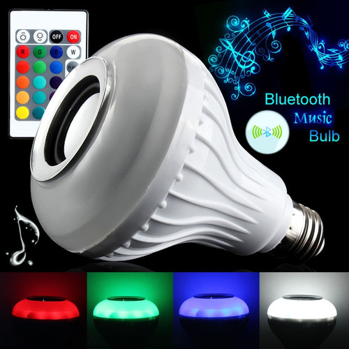 App control RGB LED Music Bulb