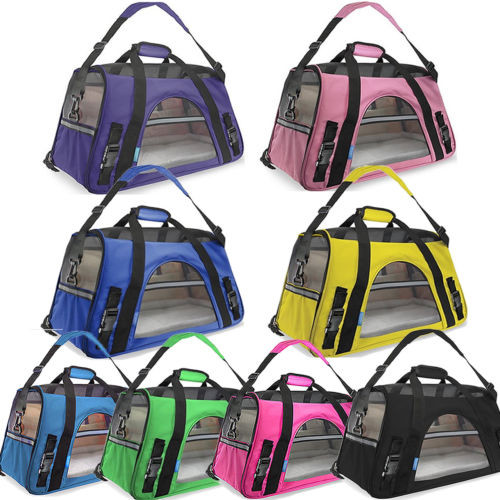 Portable Fabric Soft Pet Dog Kennel Cage Carrier