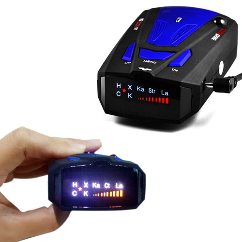 Smart Car Anti-Police GPS Speed Camera Detector