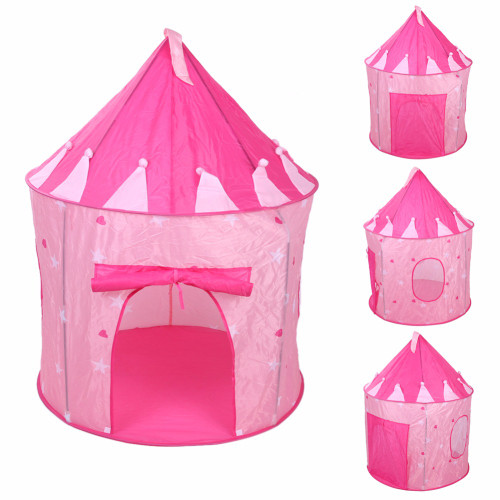 Pre-order Pop Up Play Tent Kids Girl Princess Castle Outdoor House Tent