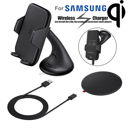 Wireless car phone charger plus phone case charger