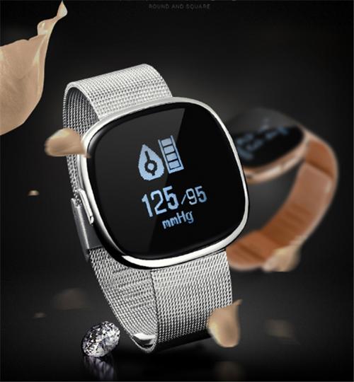 Waterproof P2 Smart Watch Bracelet Heart Rate Blood Pressure Fitness Tracker