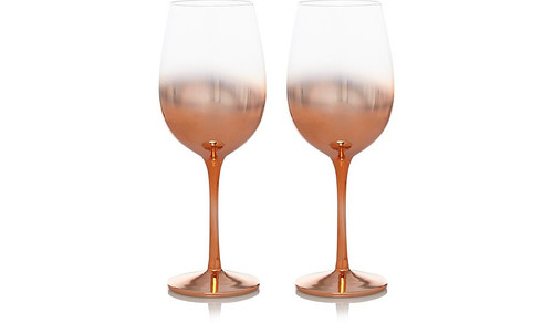 AURORA GOLD LUXURY WINE GLASSES 2-PACK