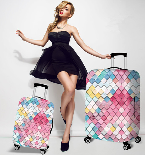 Unique Design Dust-proof Luggage Protector