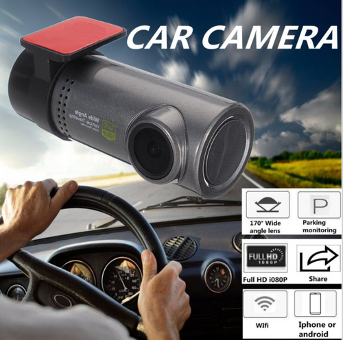 RSL Hidden Car Accident Camera with Mobile app access