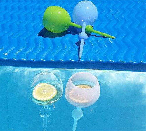 Floating Self-Standing Glass