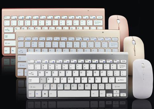 Ultra thin stylish Wireless Keyboard and mouse set