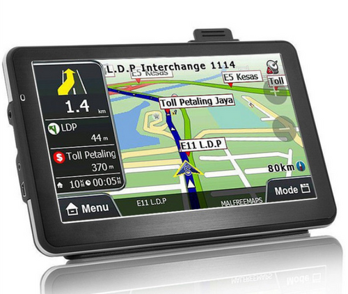 SmartGo 7inch GPS Navigation with maps for 47 countries