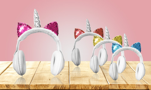Super cute Unicorn Headphones