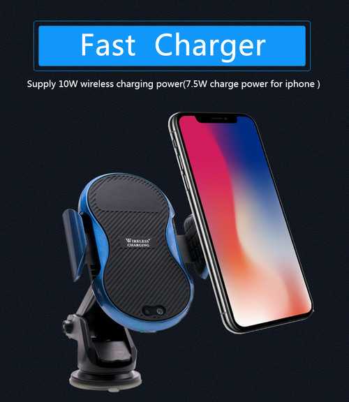 Automatic Adjustable QI charger