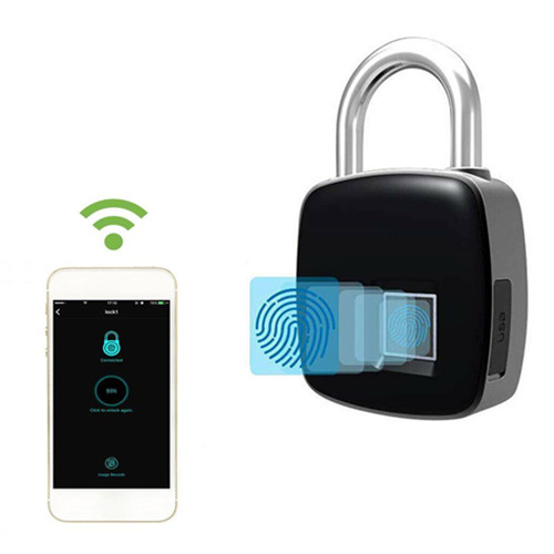 Anytech P3 Plus fingerprint Keyless Smart Lock with APP control