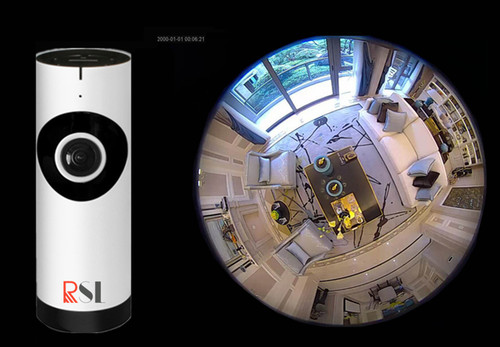 RSL 360S VR Fisheye IP camera