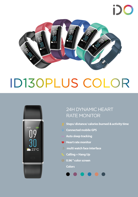 ID130Plus HR Sports Bracelet
