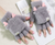 Ladies Soft and Warm Fingerless Mittens