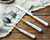 Marble effect Handle Cutlery Set