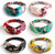 Front Knot Flower Print Hair Band