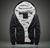 Men's Extra Soft Fleece Lining Hoodie Jacket Winter Warm Coat