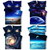 3D Galaxy Bedding Set 3pcs/4pcs