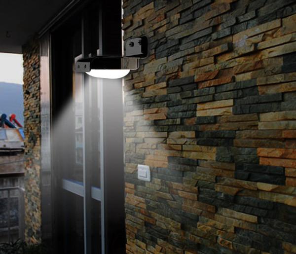 Solar Panel LED Security Light motion sensor