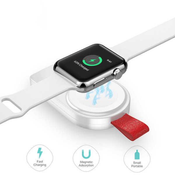 Mini portable keychain Apple watch charger
