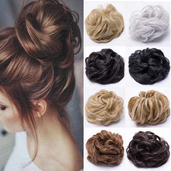 Messy Bun Scrunchie Hair Extension