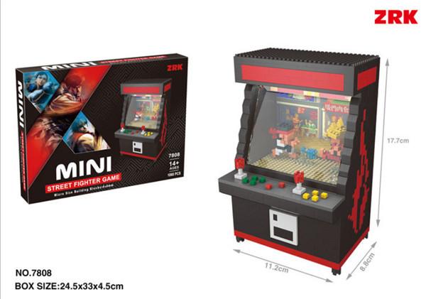 Game machine children's puzzle assembling blocks