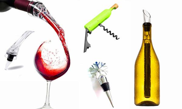 Wine accessories gift  bundle 4pcs