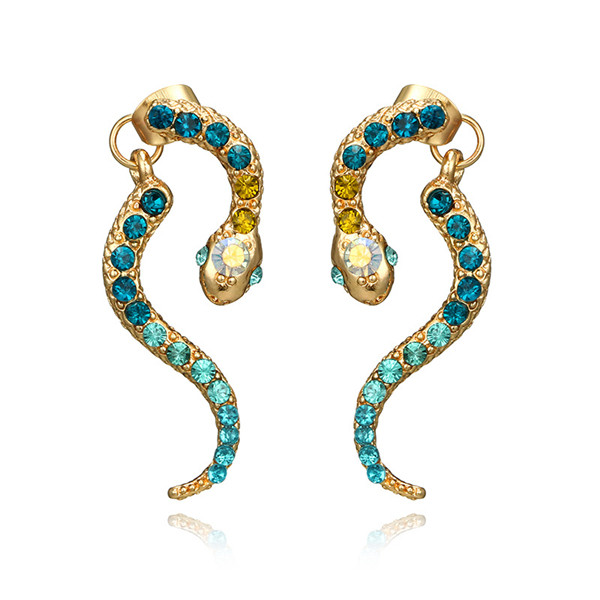 EGYPT style SNAKE EARRINGS