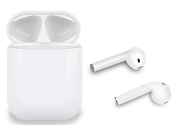 i12 touch Bluetooth earbuds with charging case