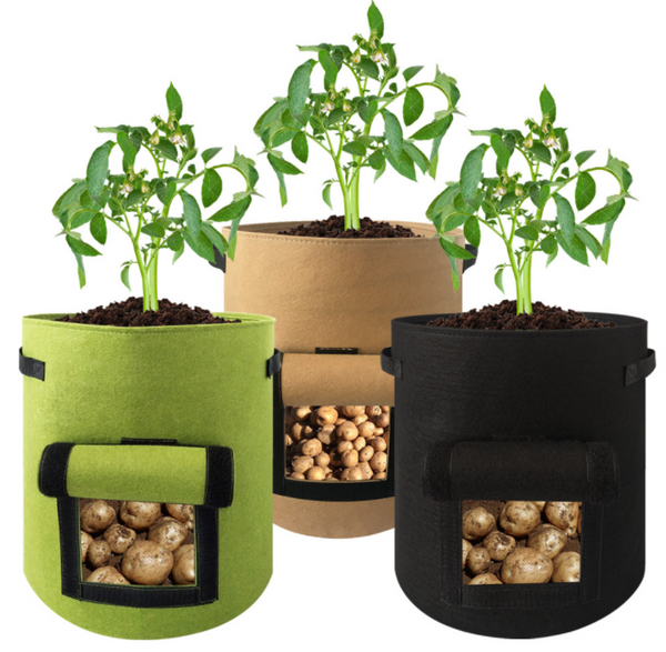 Vegetable Planting Bag with Side Window