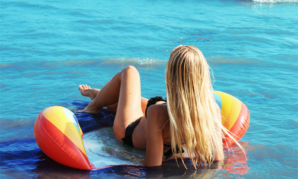 Funky Fruit Floating Inflatable Swimming  Air Bed