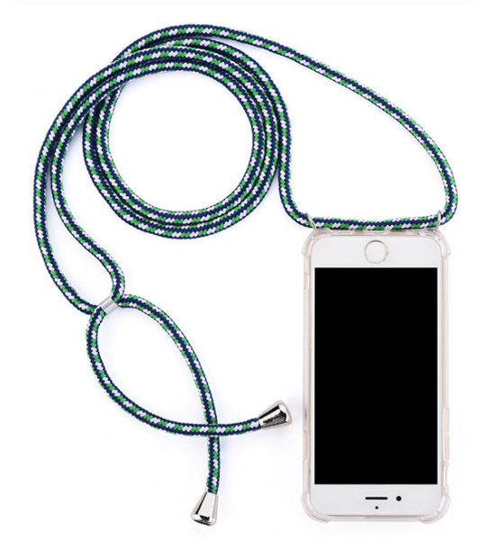 Mobile phone chain for iPhones with nylon  chain