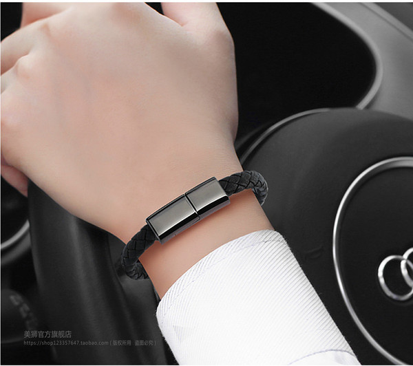 Fast charging Bracelet USB cable for Android or iOS