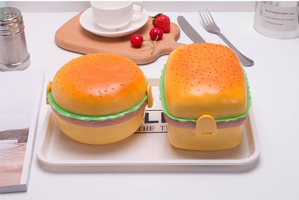 Burger Shape Lunch Box