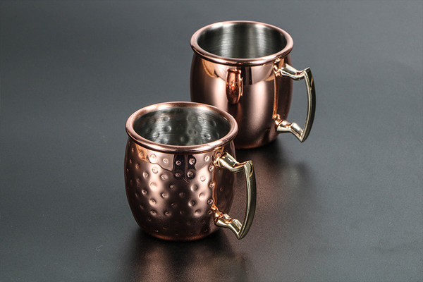 ELLA mini Moscow Mule Cocktail shot glasses