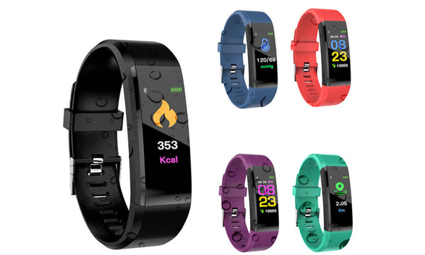 RSL 115plus Fitness Tracker and heart rate monitor