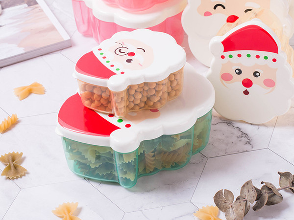 Christmas Lunch Box pack of 4